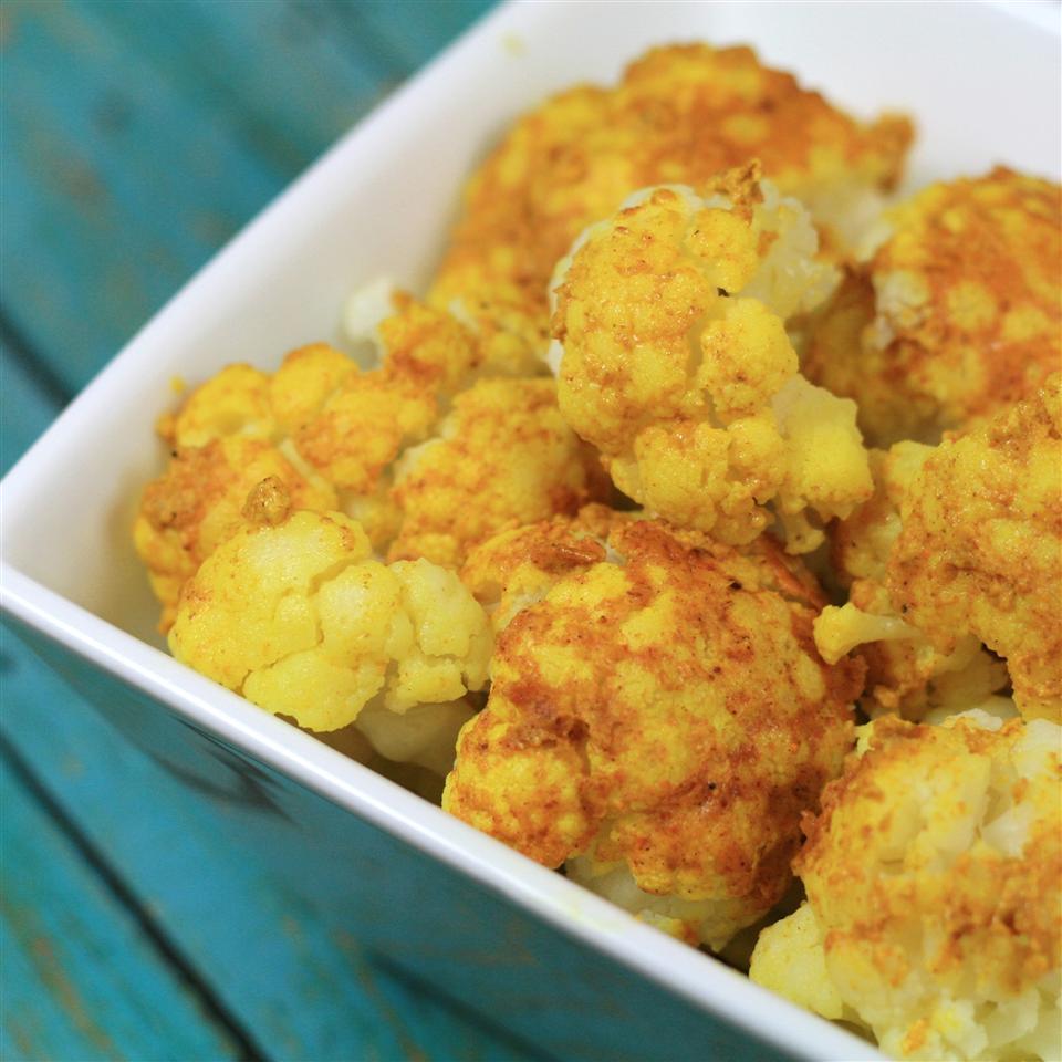 Quick Curried Cauliflower