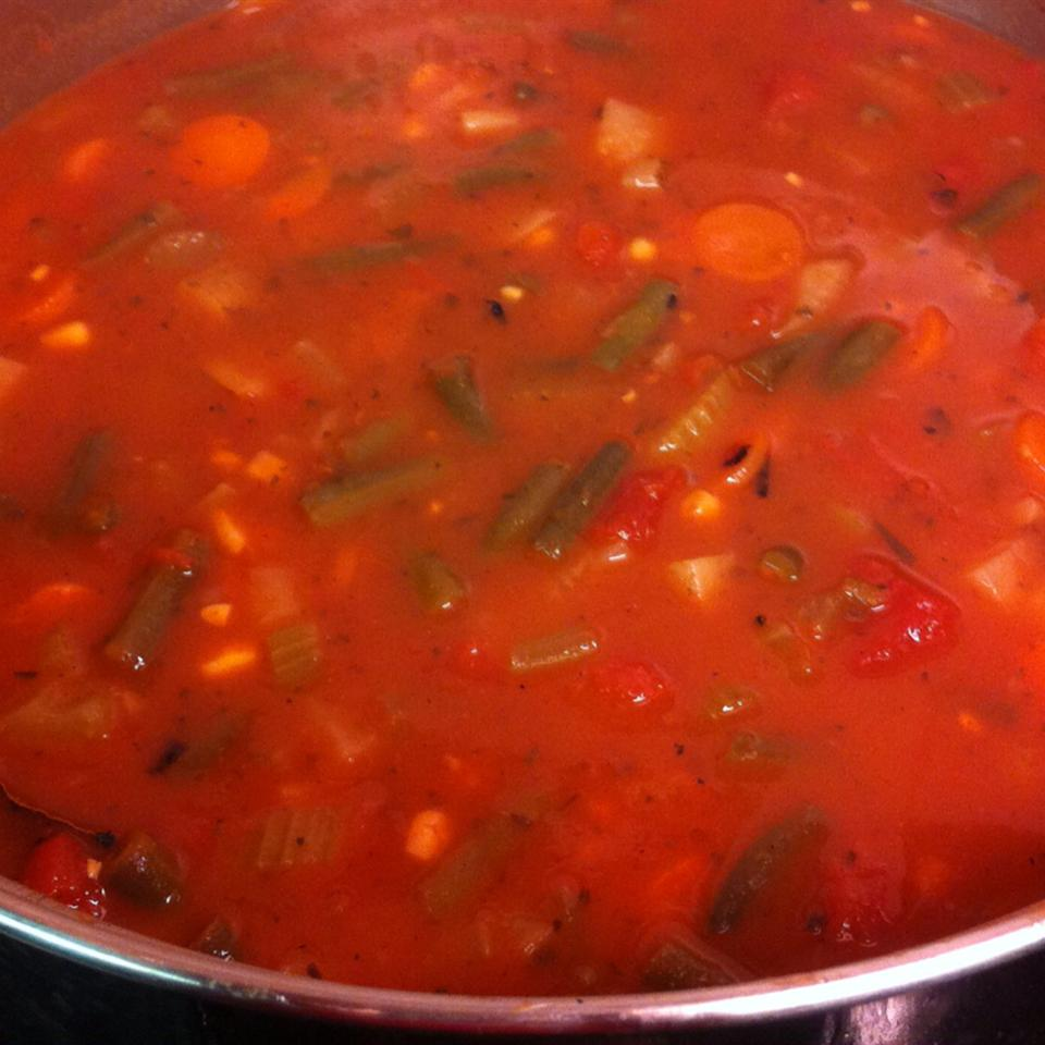 Quick and Easy Vegetable Soup MommaLizly