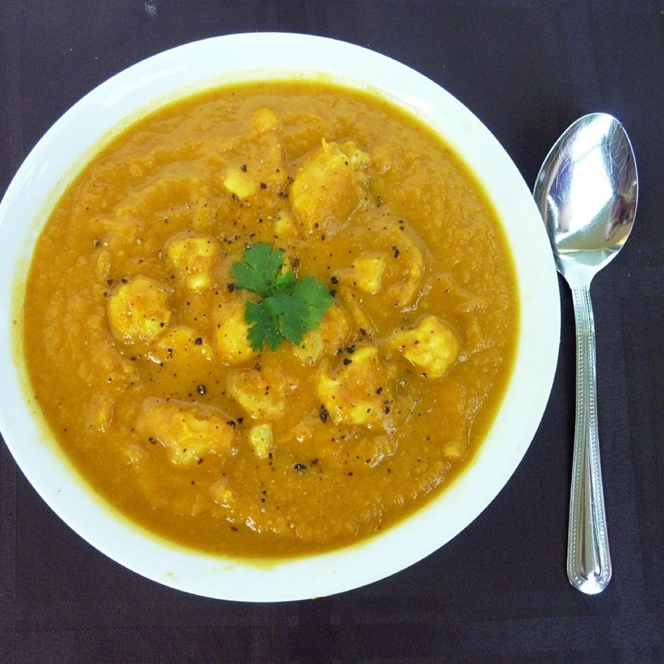 Curried Cream of Cauliflower Soup