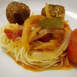 RO's Spaghetti and Meatballs