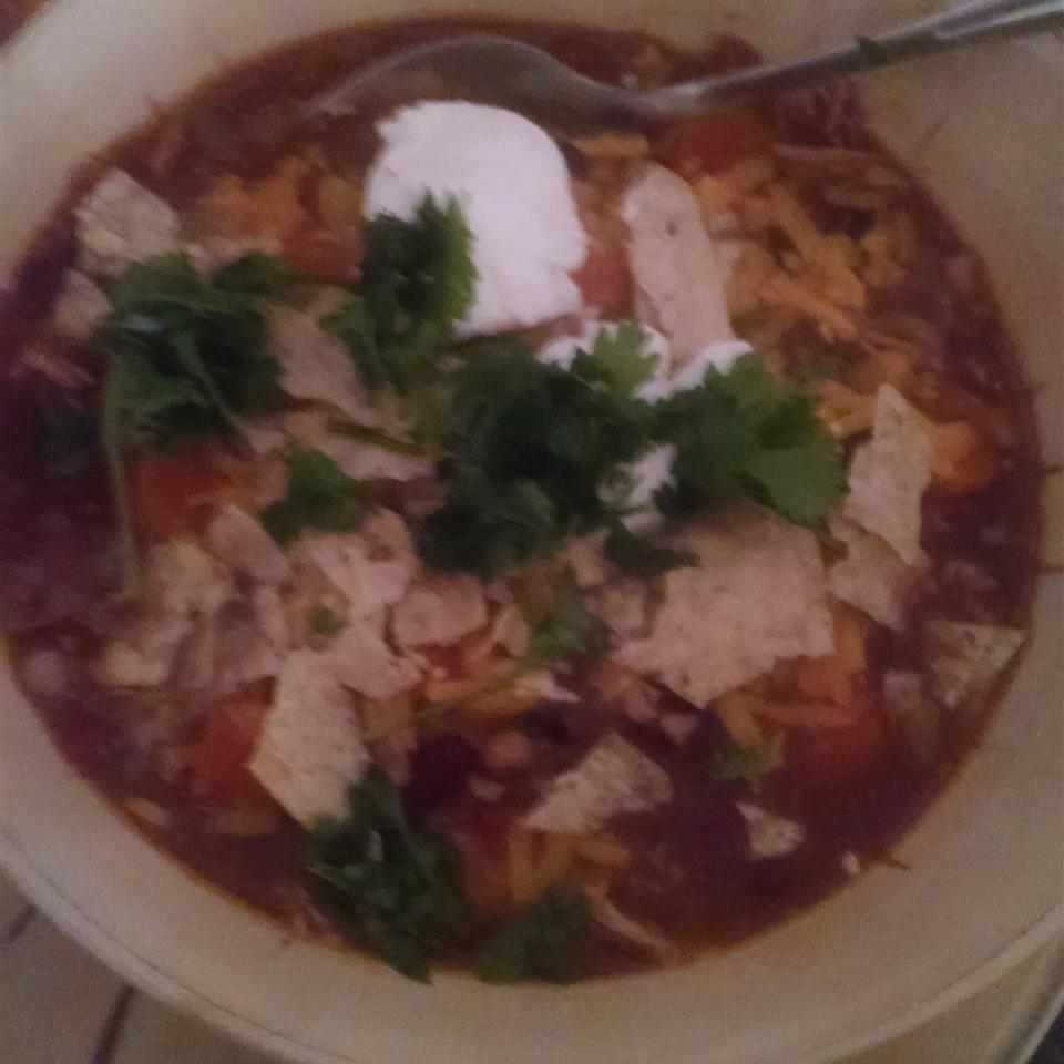 Healthier Slow Cooker Chicken Taco Soup Brittany Michelle Providence