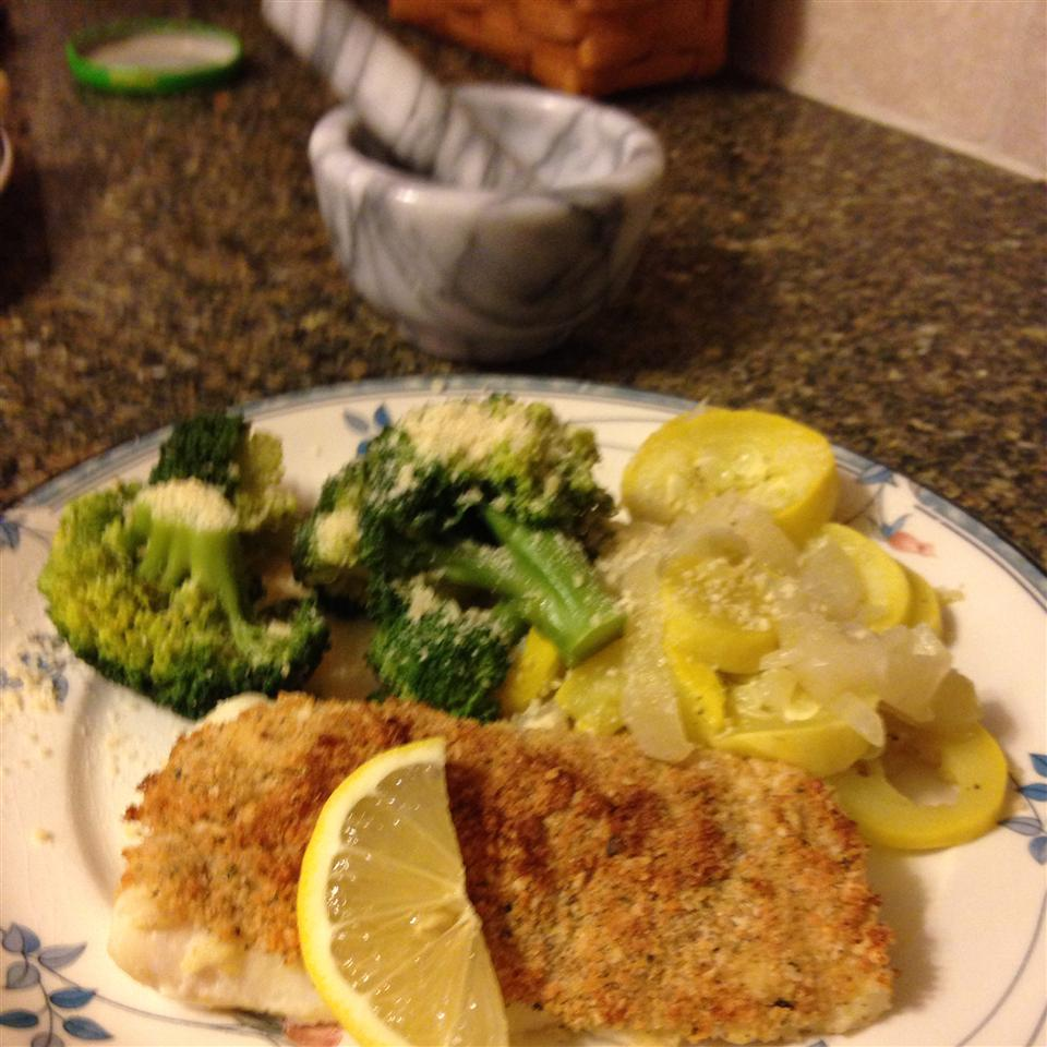 Cod with Italian Crumb Topping betsymiller29