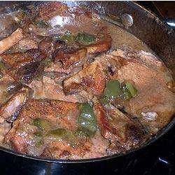 Green Pepper Pork Chops JANNA55