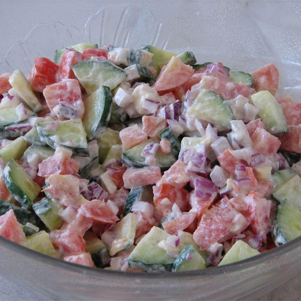 Tomato Cucumber Salad II