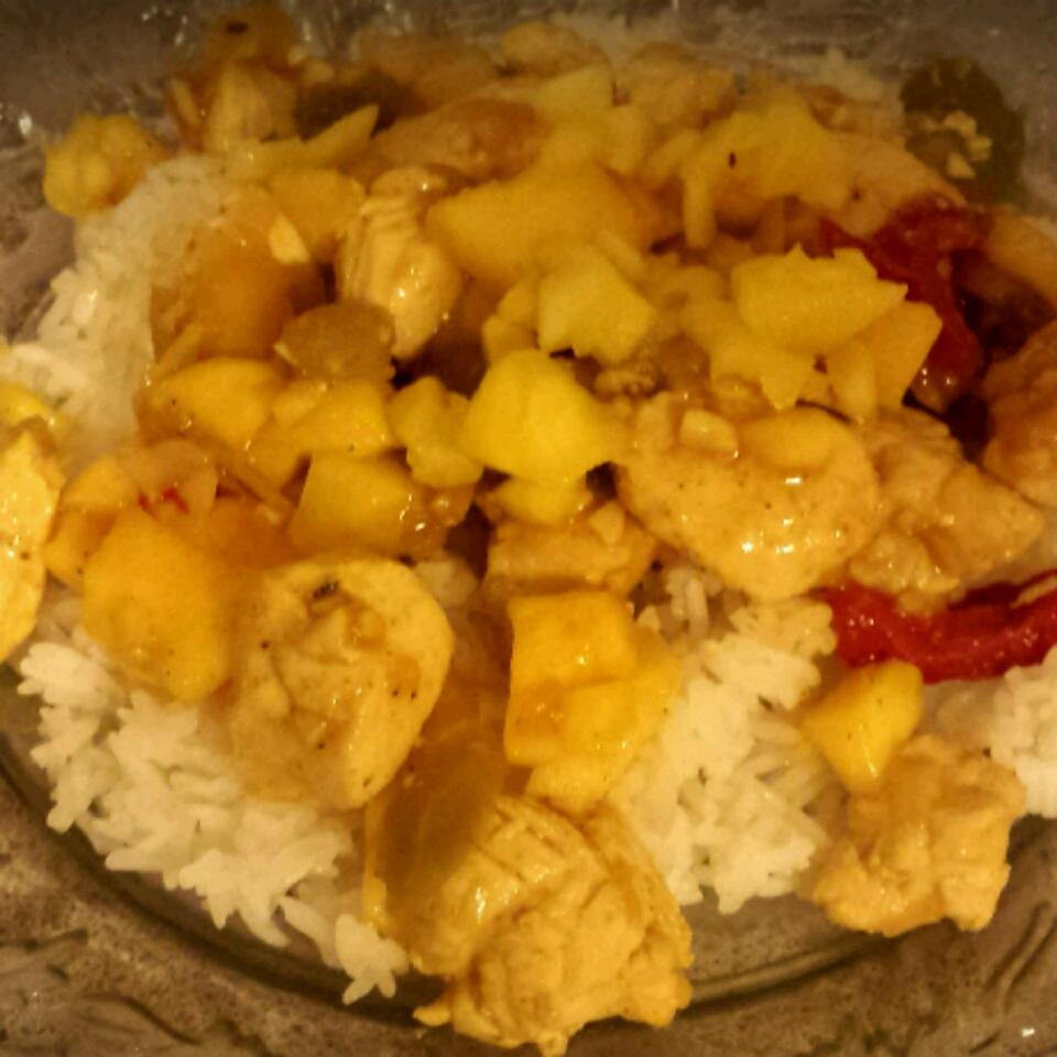 Malaysian Mango Chicken Curry