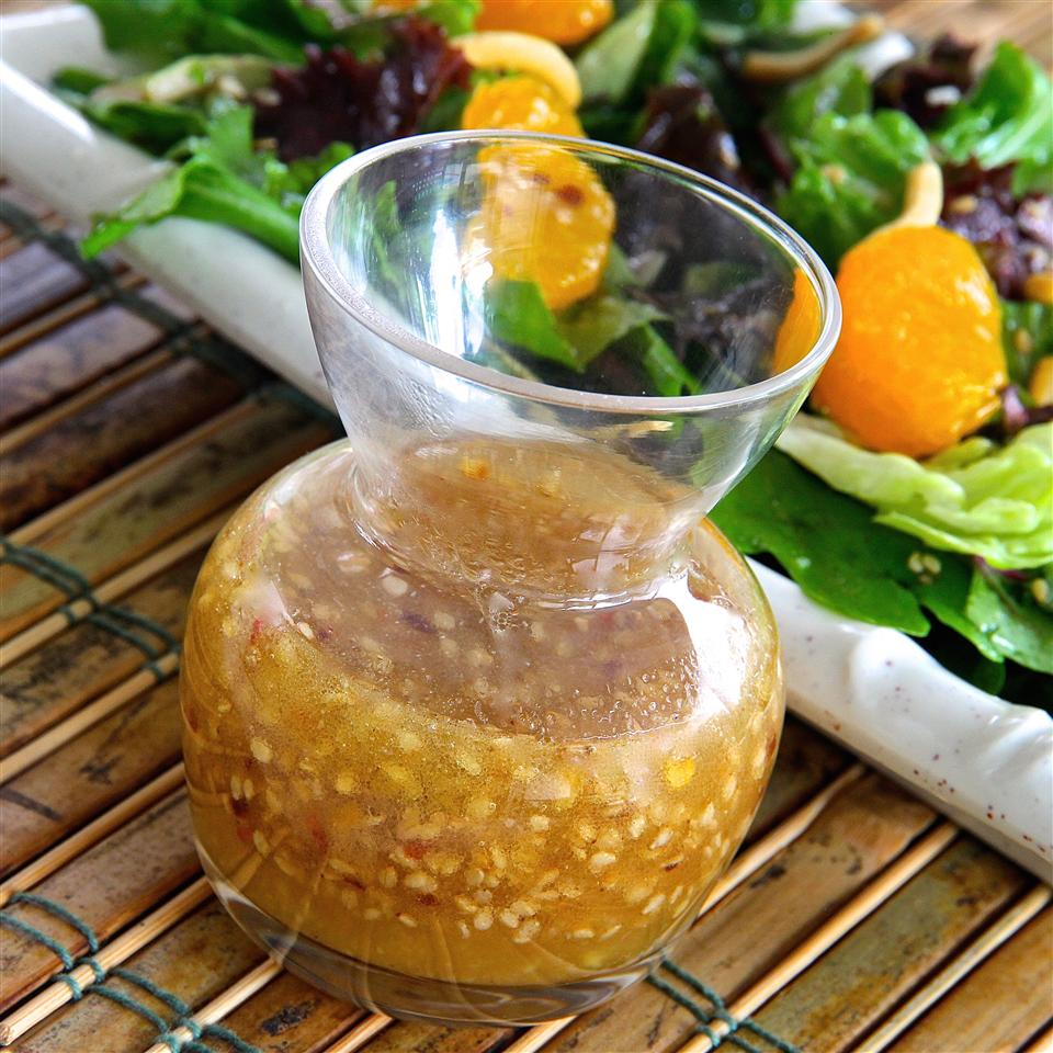 Sweet and Spicy Ginger Dressing