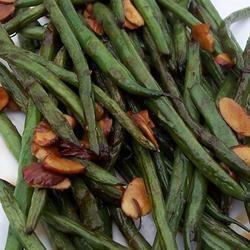 Simply-Delicious Tamari Almond Green Beans pomplemousse