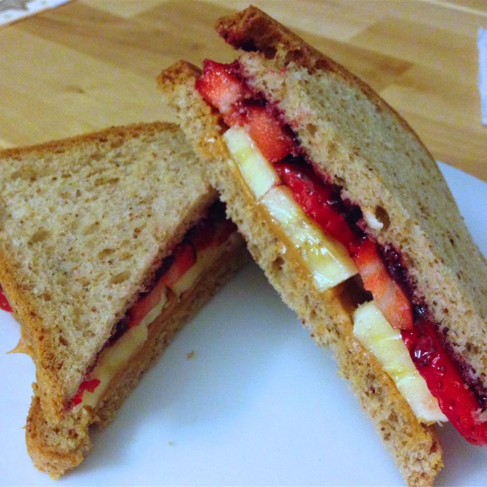 Deluxe Almond Butter Sandwiches Buckwheat Queen