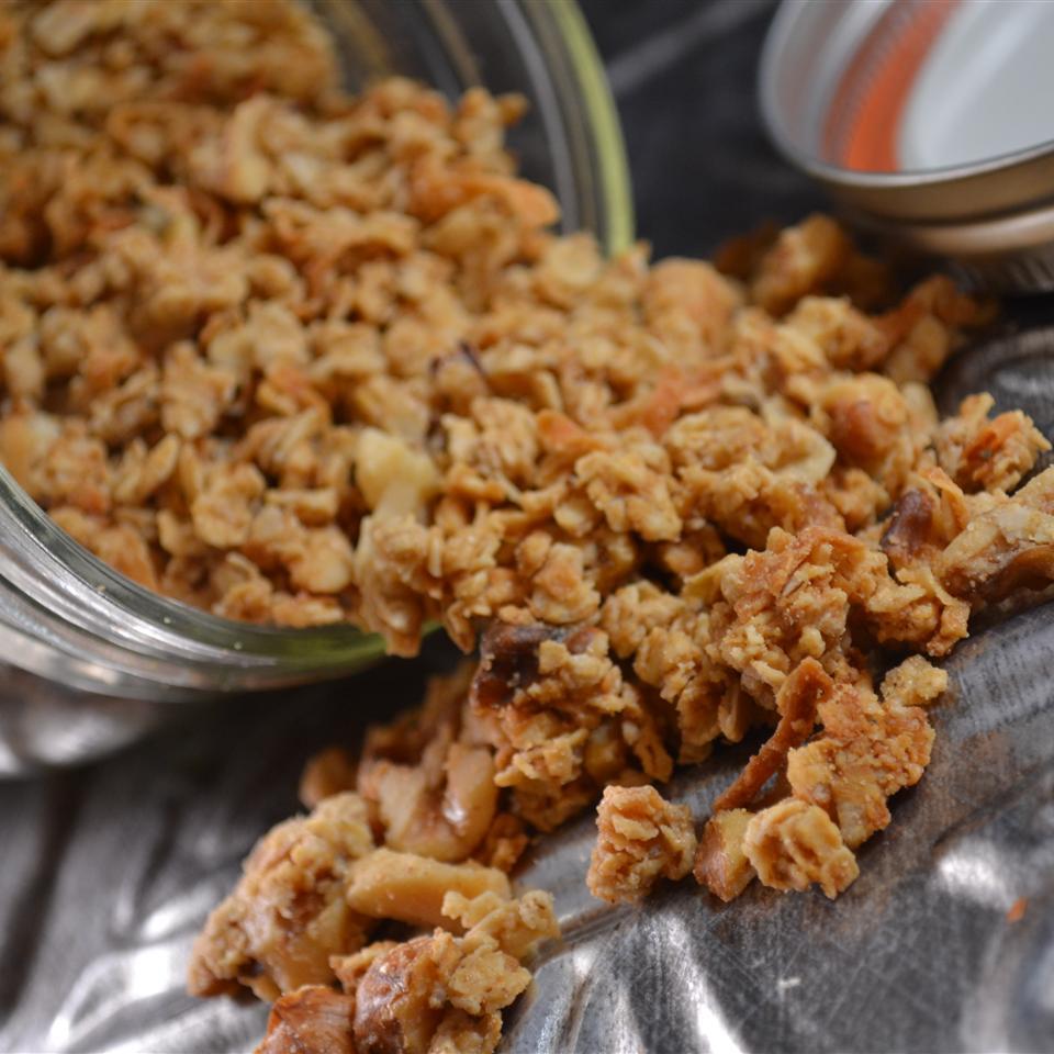 Peanut Butter Granola Rebekah Rose Hills