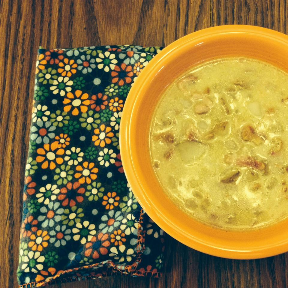 German Potato Bacon Soup