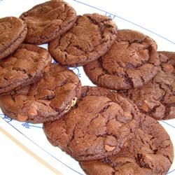 Chocolate/Peanut Butter Drop Cookies Dolce-Danielle