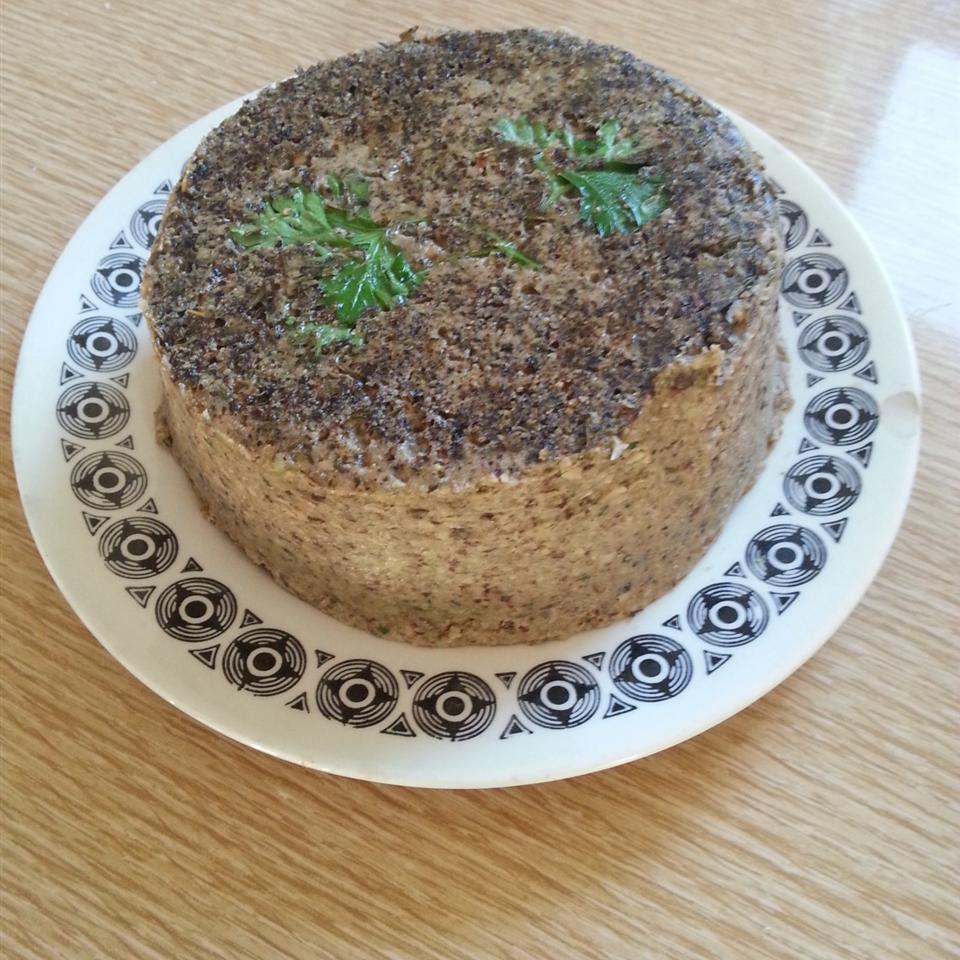 Exotic Mushroom and Walnut Pate Yancakes