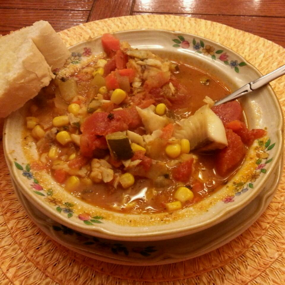 Spicy Catfish Chowder