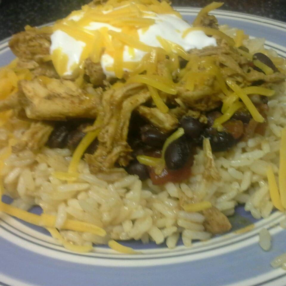 Fast Chicken Over Black Beans and Rice Ashleigh Waldron