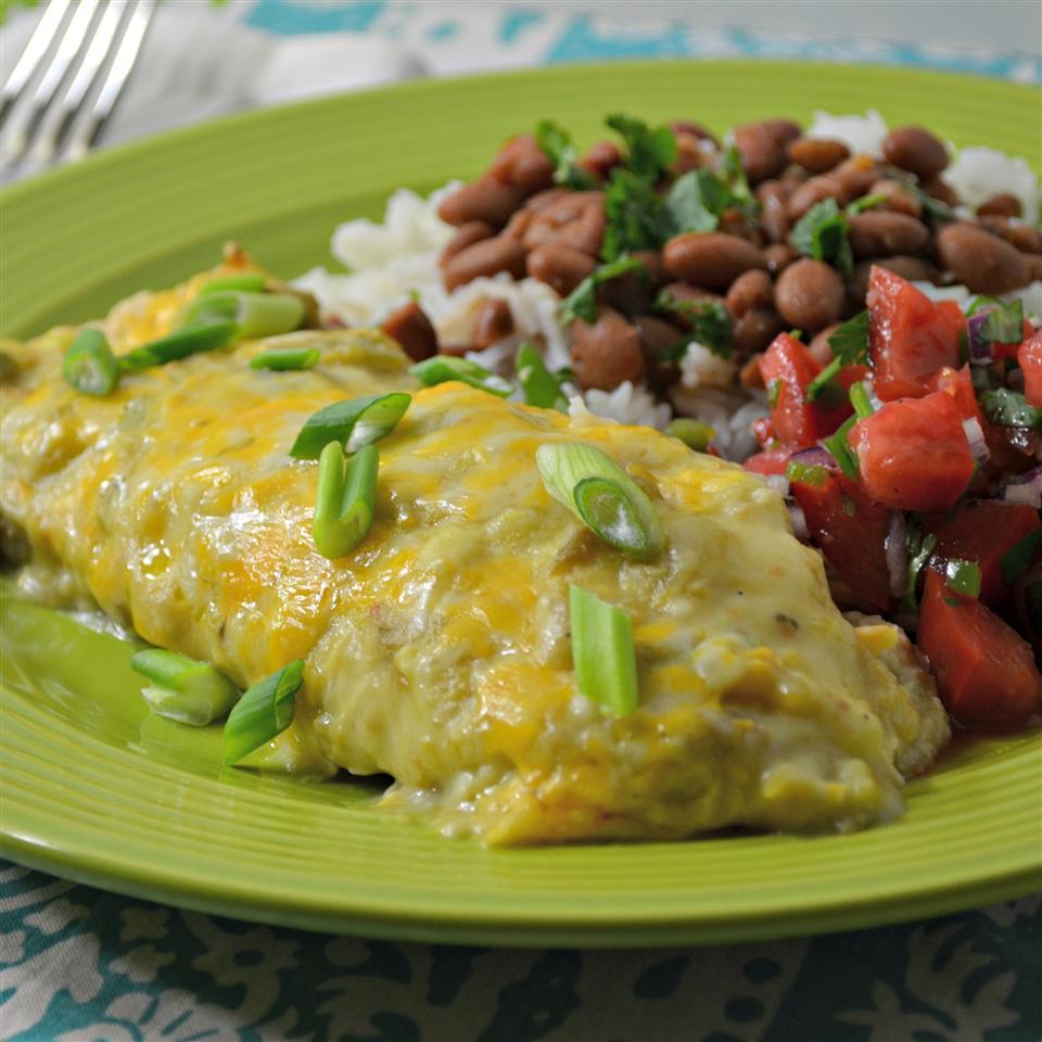 Green Chicken Enchiladas A.Meyer