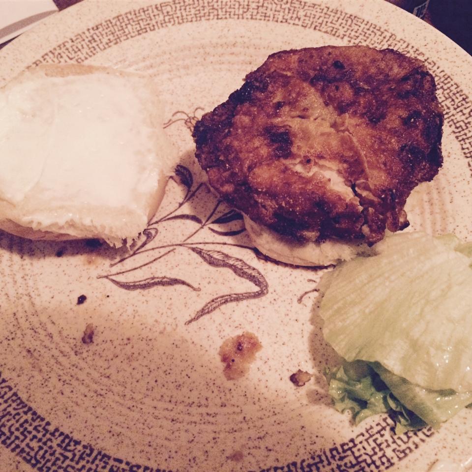 Midwestern Pork Tenderloin Sandwich NaTivE