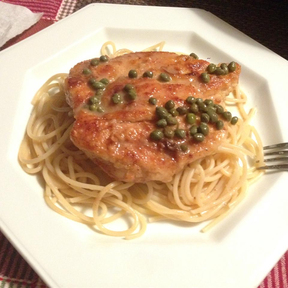 Chicken with Lemon-Caper Sauce