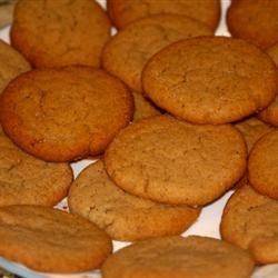 Irish Ginger Snaps