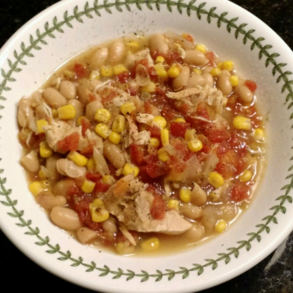 Crock-Pot® Chicken Chili threekidnuthouse