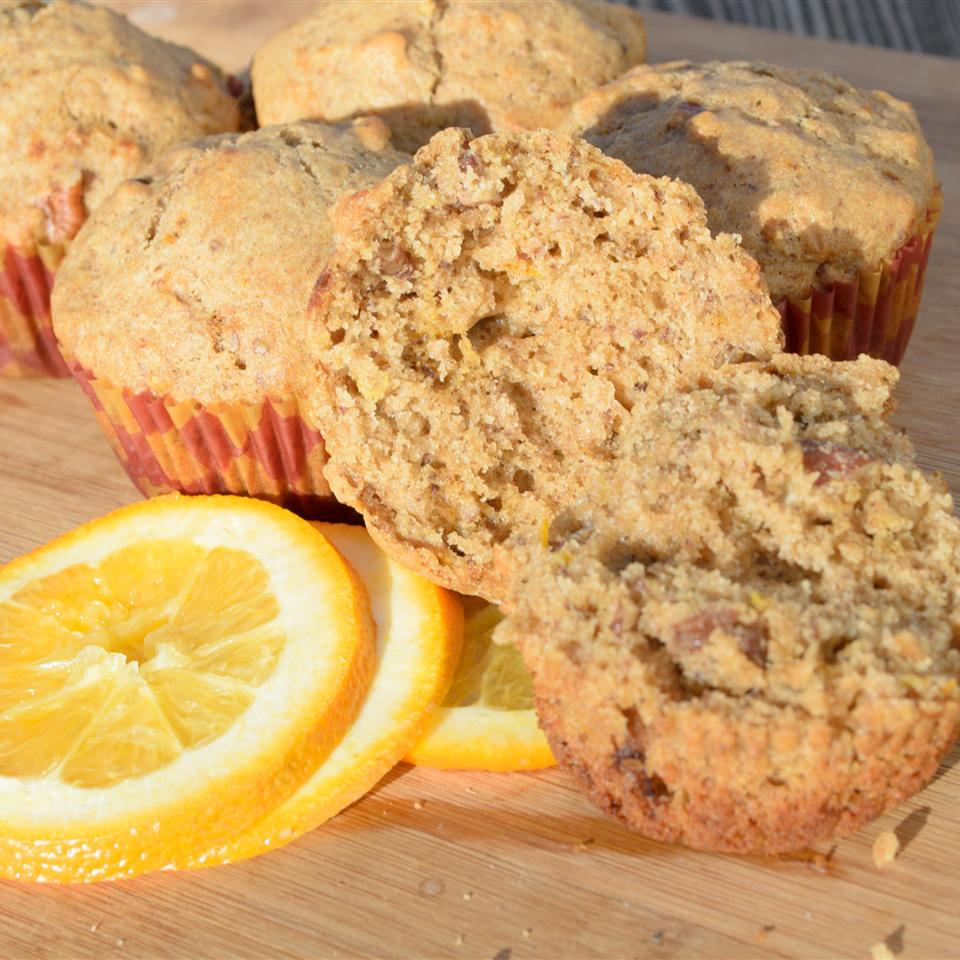 Orange-Walnut Muffins