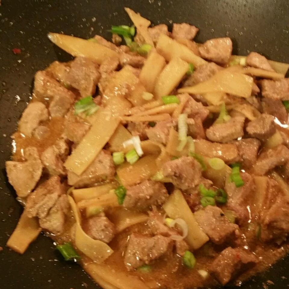 Pork and Bamboo Shoots Mary