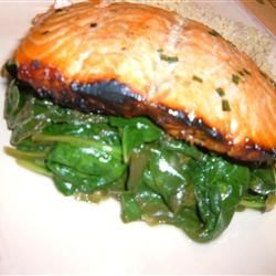 Buttery Lemon Spinach Fit&Healthy Mom