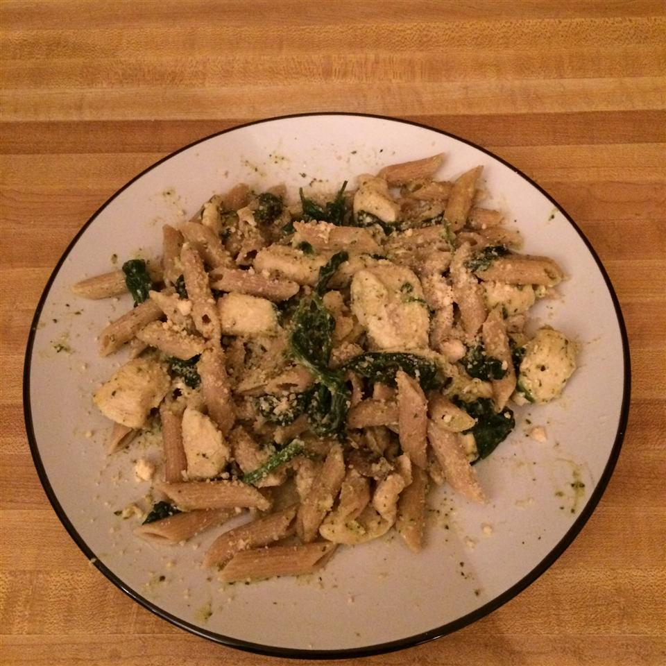 Pesto Chicken Florentine Amasue