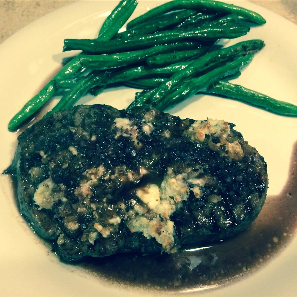 Blue Cheese Crusted Filet Mignon with Port Wine Sauce LLSR