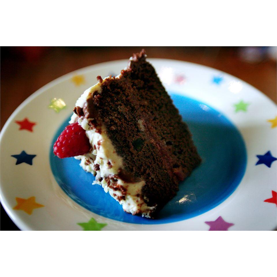 Fudge Cake Cherry Rae