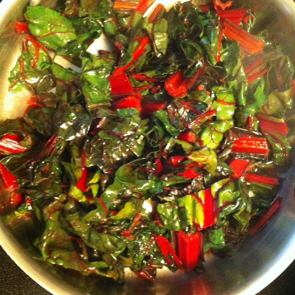 Swiss Chard Sauteed with Lime Heather Wright