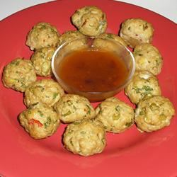 Thai Chicken Balls
