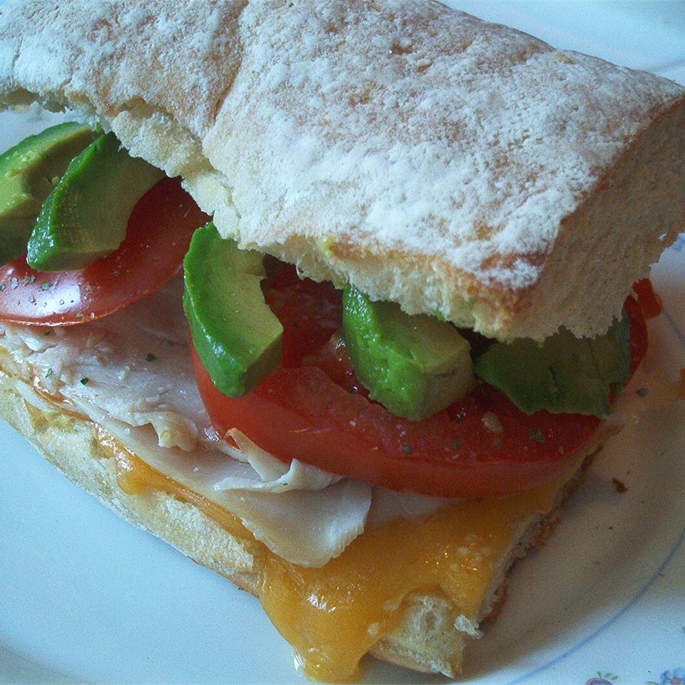 Awesome Turkey Sandwich Michelle Ramey