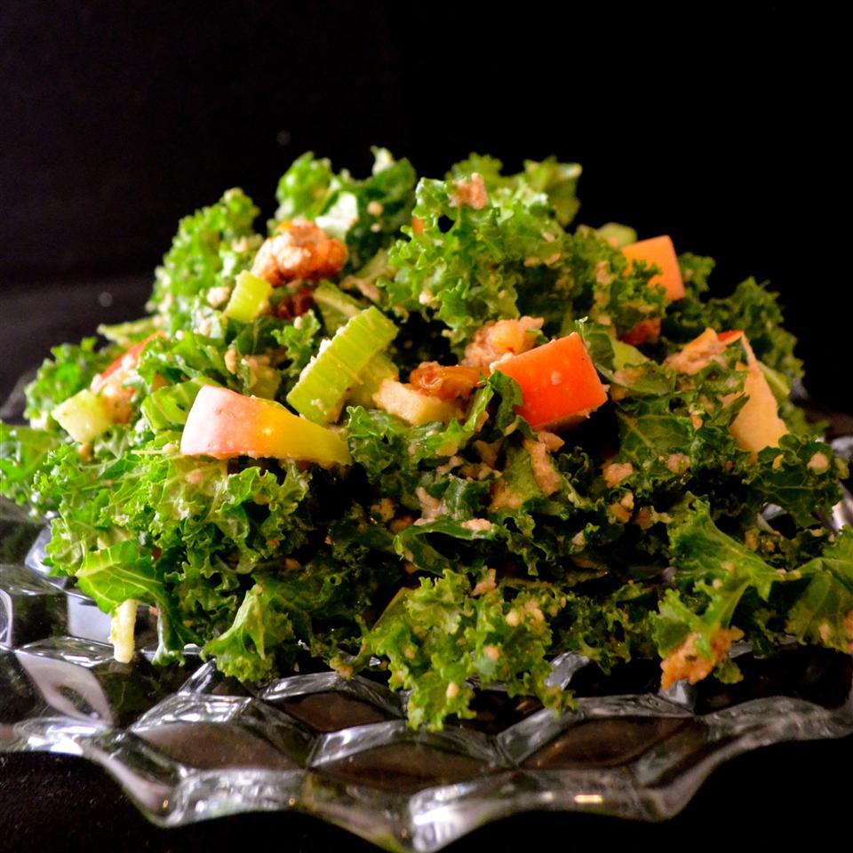 Waldorfy Kale Salad