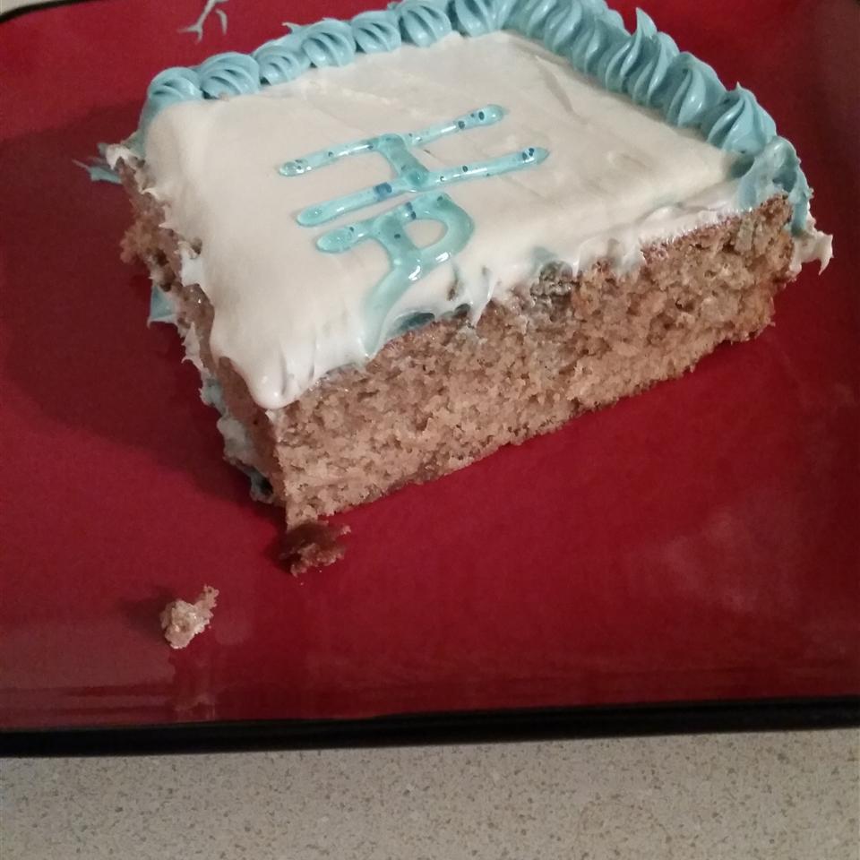 Moist, Tender Spice Cake Sarah