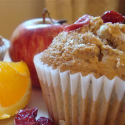 Cranberry Applesauce Muffins P`l!nG