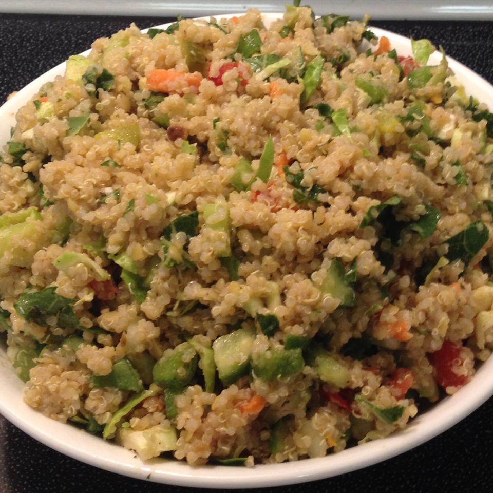 Quinoa and Lentil Salad lynne