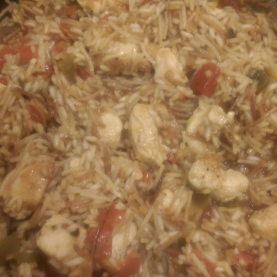 Spanish Rice Chicken I AlainaMarie
