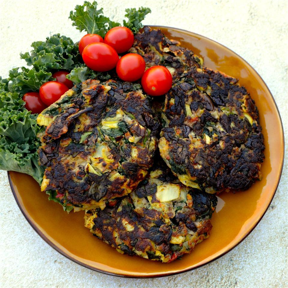 Mediterranean Vegetable Cakes