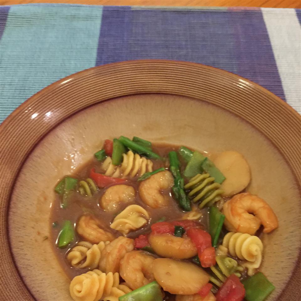 Easy Shrimp Dinner jbk