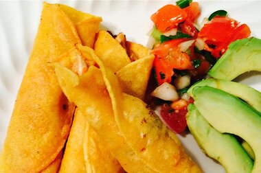 Great Chicken Taquitos Recipe Allrecipes Com Allrecipes