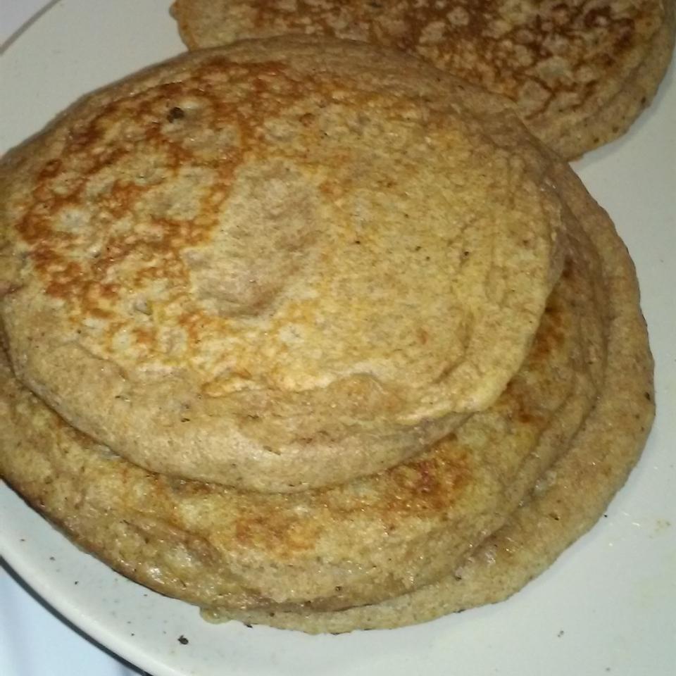 Vegan Whole Wheat Apple Pancakes CaribbeanCooker27