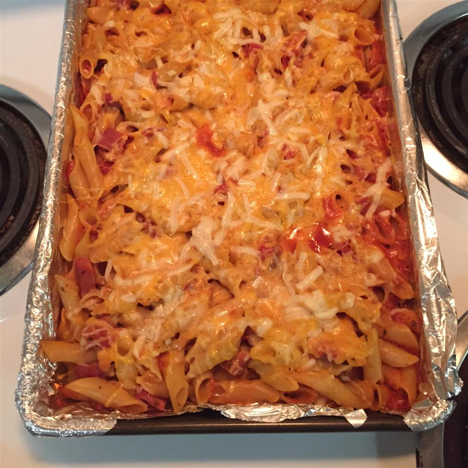 Ham and Cheese Pasta Bake Anthony Videira
