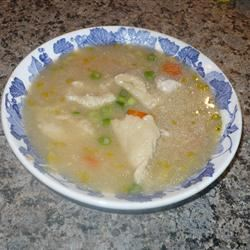 Chicken Dumpling Soup Colleen Langlois