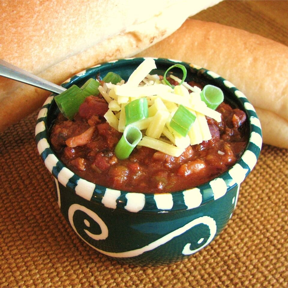 slow cooker chili ii recipe