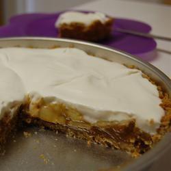 Banana-Dulce de Leche Pie (Banana-Caramel Pie) Char A.
