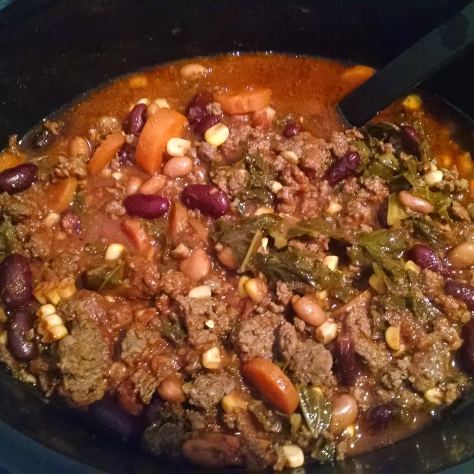Slow Cooker Turkey Chili Emily Kane