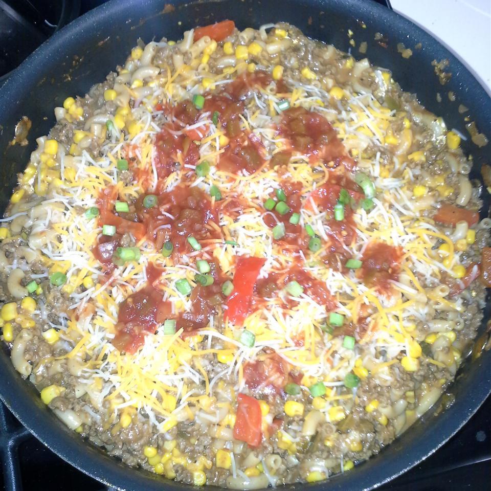 One-Pot Salsa Beef Skillet Brandon Sides