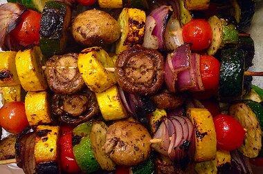 Grilled Veggie Skewers Recipe Allrecipes