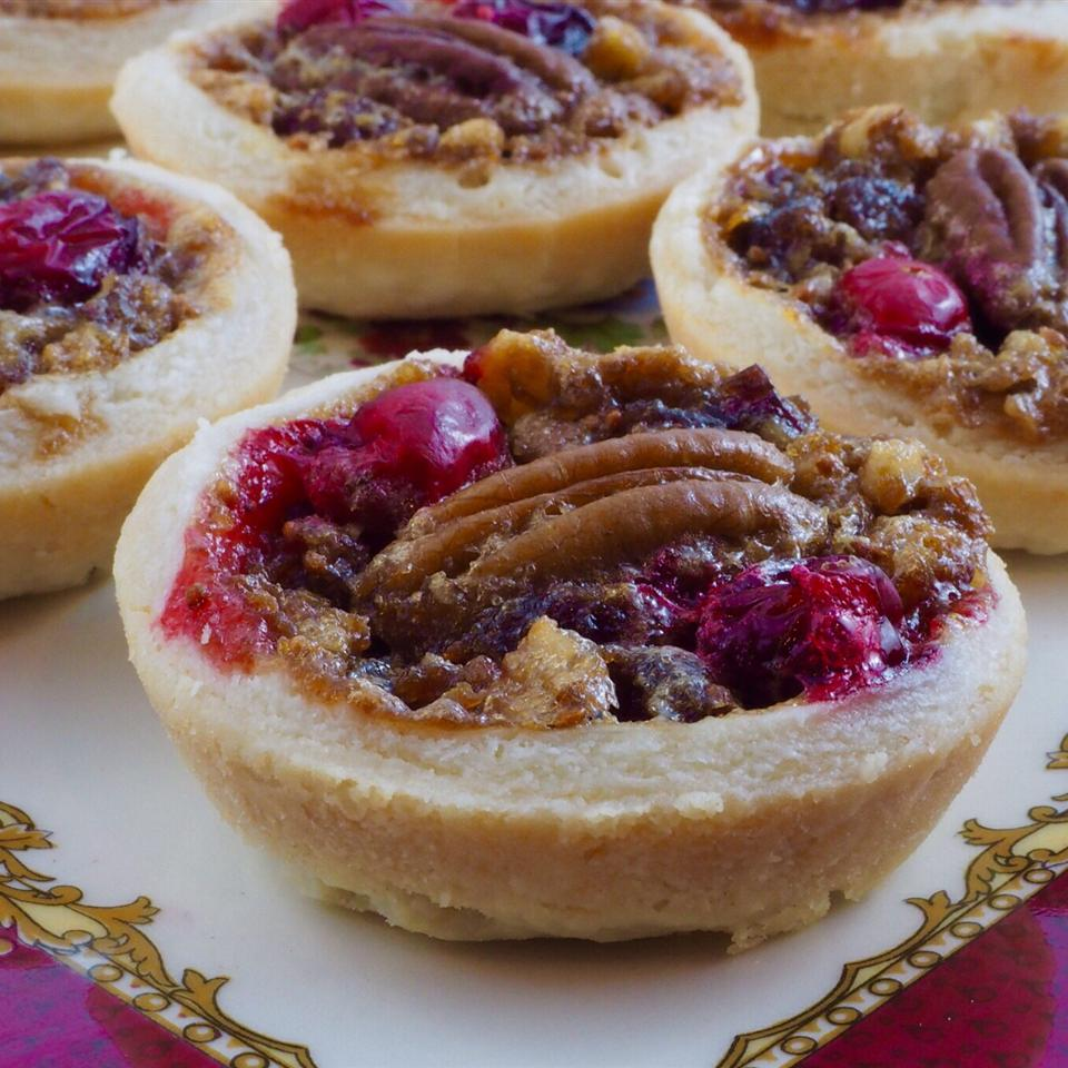 Pecan Cranberry Butter Tarts Rob Tanner