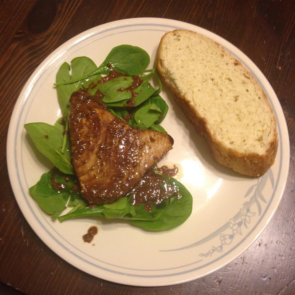 Savory Pan-Seared Tuna Steaks Joel